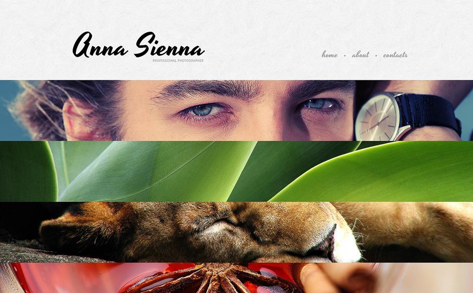 Template Web Flexível para Sites de Portfólio de Fotografo №48147 New Screenshots BIG