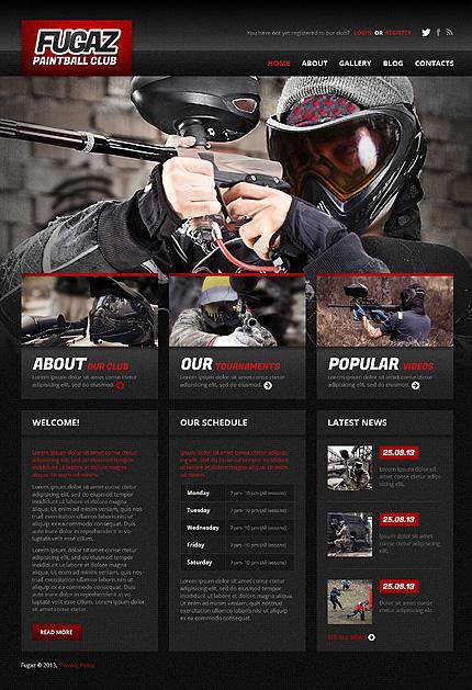 WordPress Theme/Template 48156 Main Page Screenshot