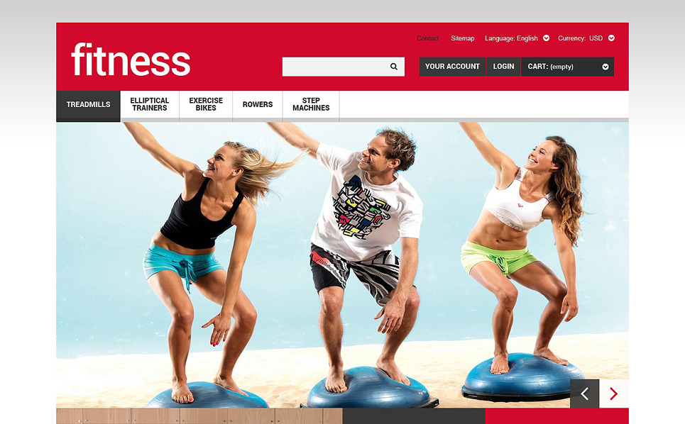 Tema PrestaShop Responsive #48159 per Un Sito di Fitness New Screenshots BIG