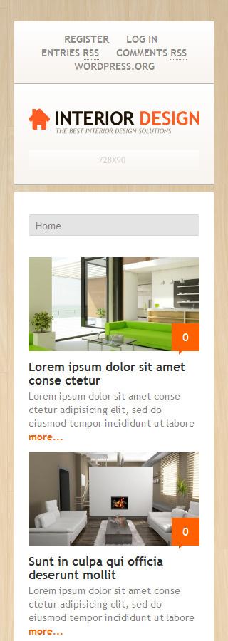 WordPress Theme/Template 48161 Main Page Screenshot