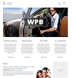 Web design WordPress Template 48162