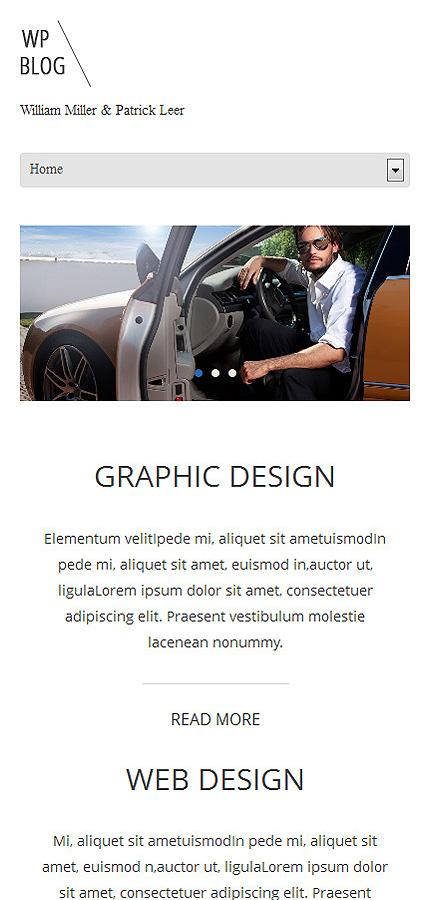 WordPress Theme/Template 48162 Main Page Screenshot