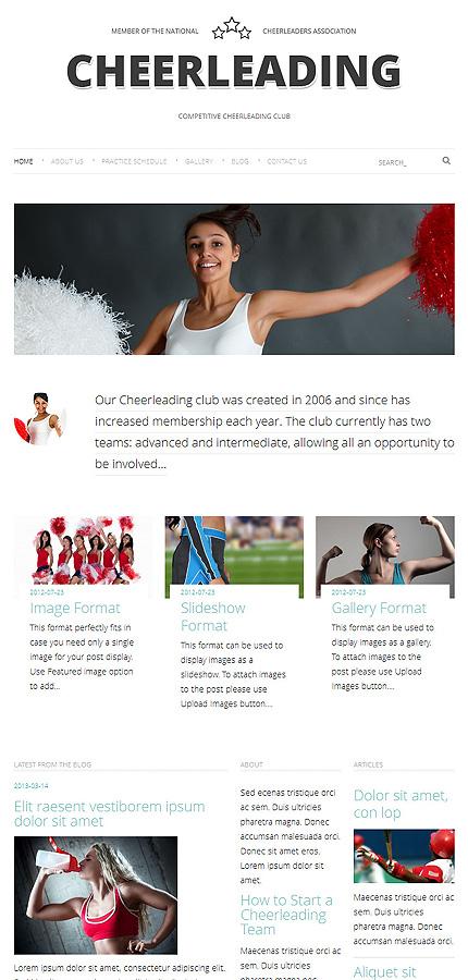 WordPress Theme/Template 48163 Main Page Screenshot