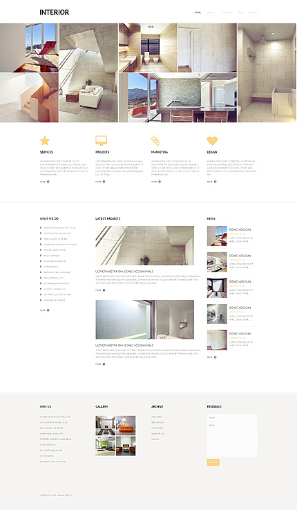 WordPress Theme/Template 48164 Main Page Screenshot