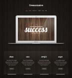 Communications WordPress Template 48165