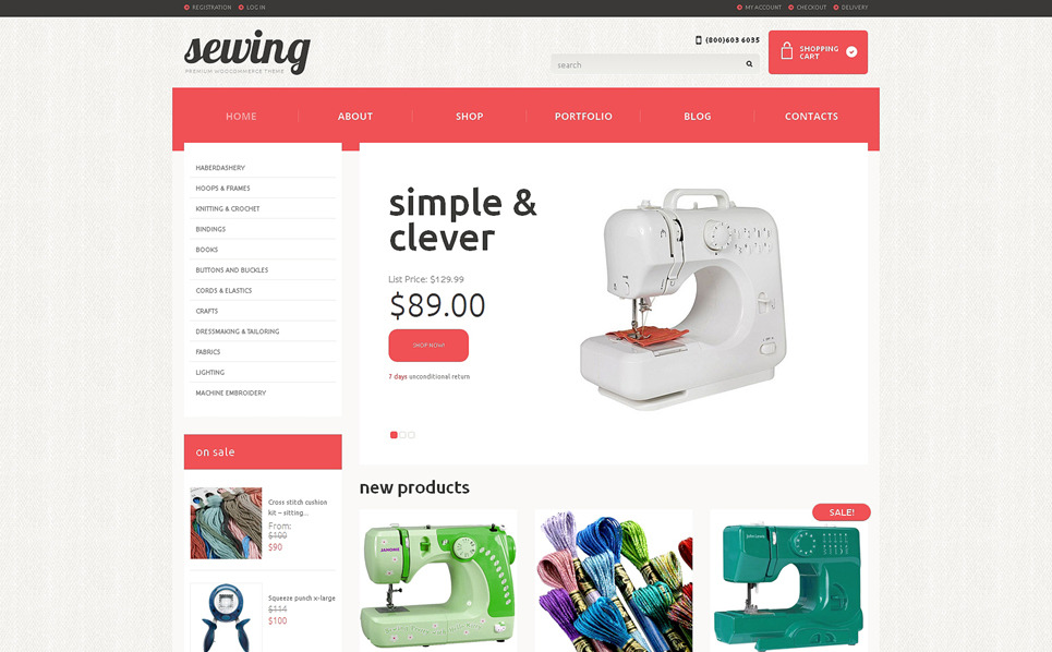 Tema WooCommerce Flexível para Sites de Artesaniais №48167 New Screenshots BIG