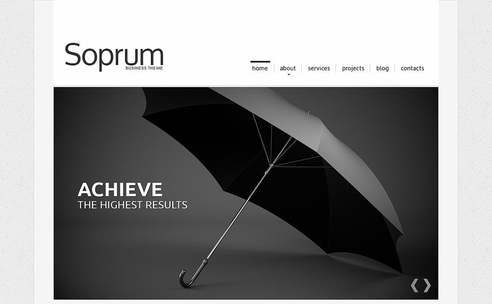 Reszponzív Marketing ügynökségek Weboldal sablon New Screenshots BIG