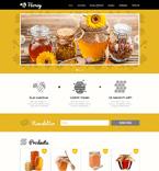 Food & Drink Website  Template 48175