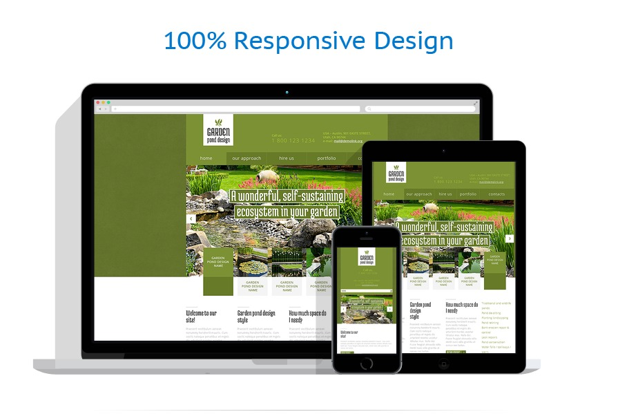 Exterior design website template 48179 for Exterior design website templates