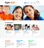 Religious Website  Template 48181