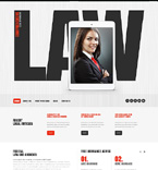 Law Website  Template 48182