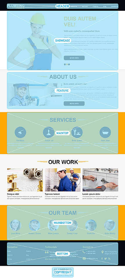 Website Template #48189