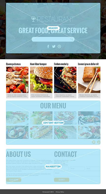 Joomla Theme/Template 48190 Main Page Screenshot