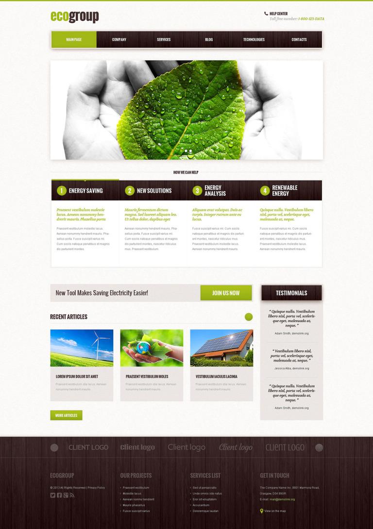 Accounting Website Responsive WordPress Theme New Screenshots BIG