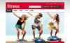 Адаптивный PrestaShop шаблон №48159 на тему фитнес New Screenshots BIG