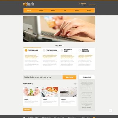 11+ Best Bank WordPress Themes 2018 | TemplateMonster