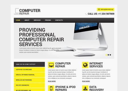Computer Repair Responsive