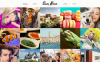 Plantilla Web para Sitio de Portafolios de fotógrafos New Screenshots BIG