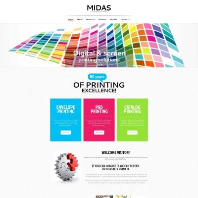 Print shop moto cms html templates maxwellsz
