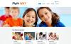 Responsive Website template over Christelijke  New Screenshots BIG