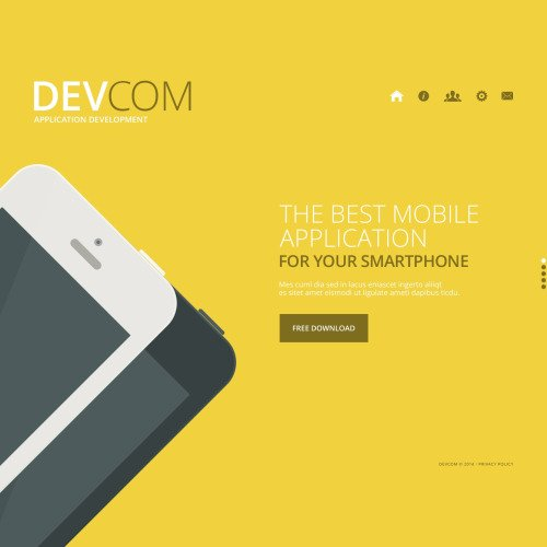 Devcom - Website Template based on Bootstrap