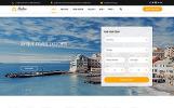 """Website Vorlage namens """"Sealine Travel Agency Multipage HTML"""""""