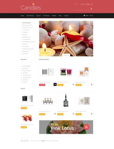 ZenCart шаблон №48136 на тему магазин подарков