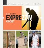 Sport Website  Template 48223