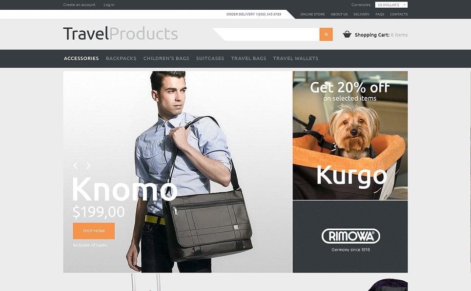 Plantilla VirtueMart #48226 para Sitio de Tienda de viajes New Screenshots BIG