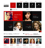 Entertainment Magento Template 48231