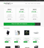 Web Hosting PrestaShop Template 48239