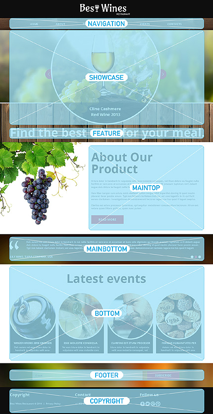 Joomla Theme/Template 48242 Main Page Screenshot