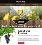 Food & Drink Joomla  Template 48242