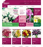Flowers WooCommerce Template 48243