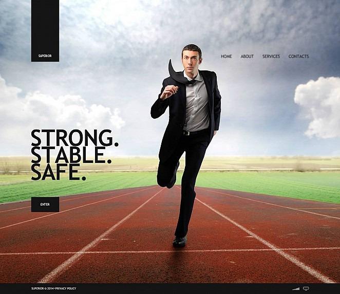 Szablon Flash CMS #48253 na temat: usługi doradcze New Screenshots BIG