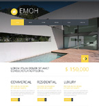 Real Estate Joomla  Template 48259