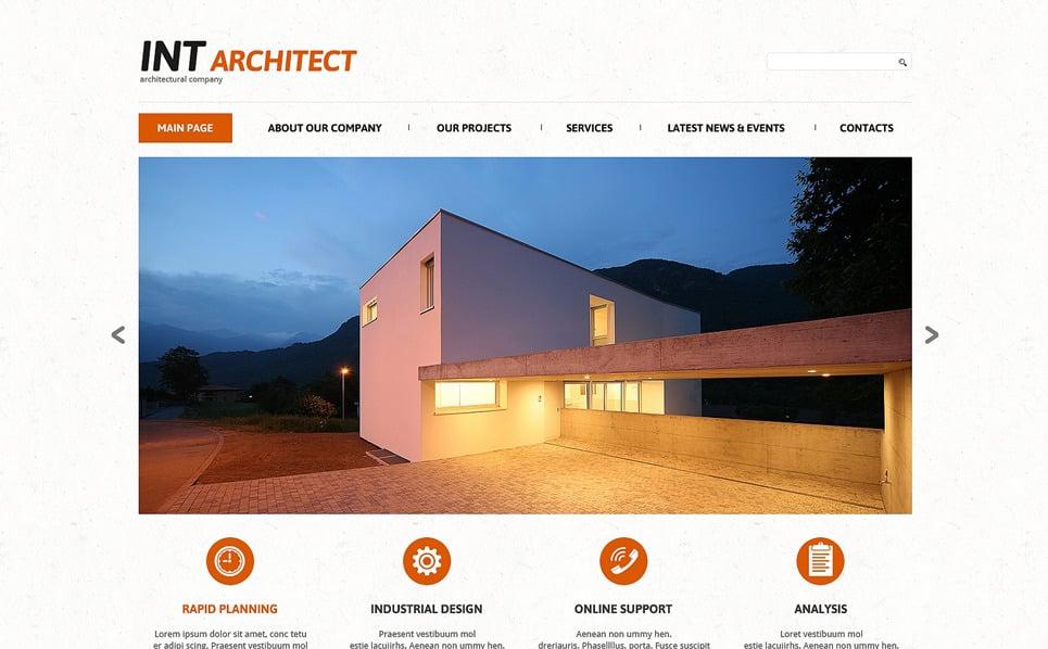 Responzivní Joomla šablona na téma Stavební společnosti New Screenshots BIG