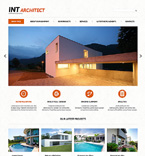 Architecture Joomla  Template 48260