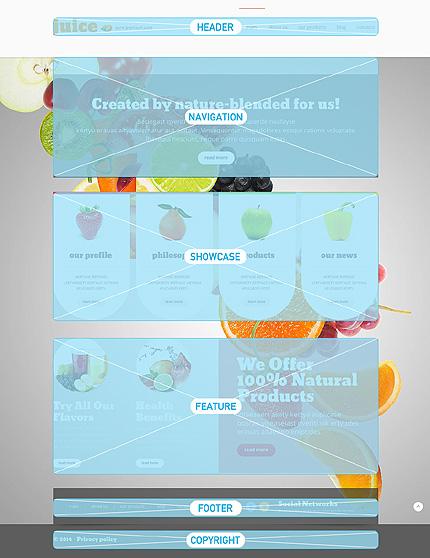 Joomla Theme/Template 48261 Main Page Screenshot