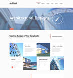 Architecture Joomla  Template 48263