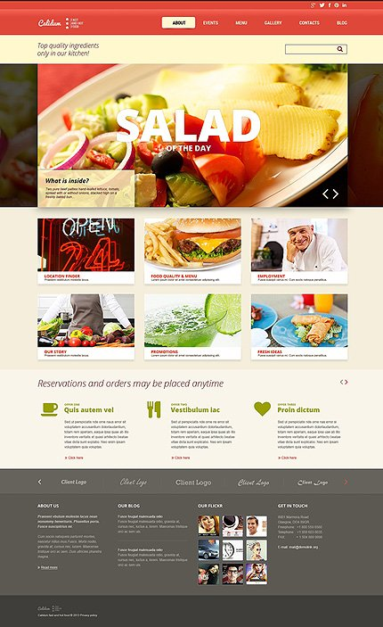 Joomla Theme/Template 48264 Main Page Screenshot