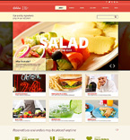 Cafe & Restaurant Joomla  Template 48264