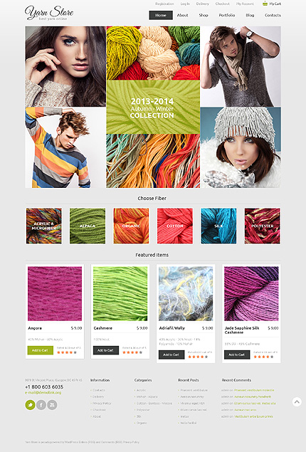 ADOBE Photoshop Template 48266 Home Page Screenshot