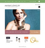 Jewelry ZenCart  Template 48268