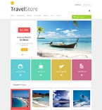 Travel ZenCart  Template 48269