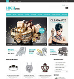 Jewelry PrestaShop Template 48270
