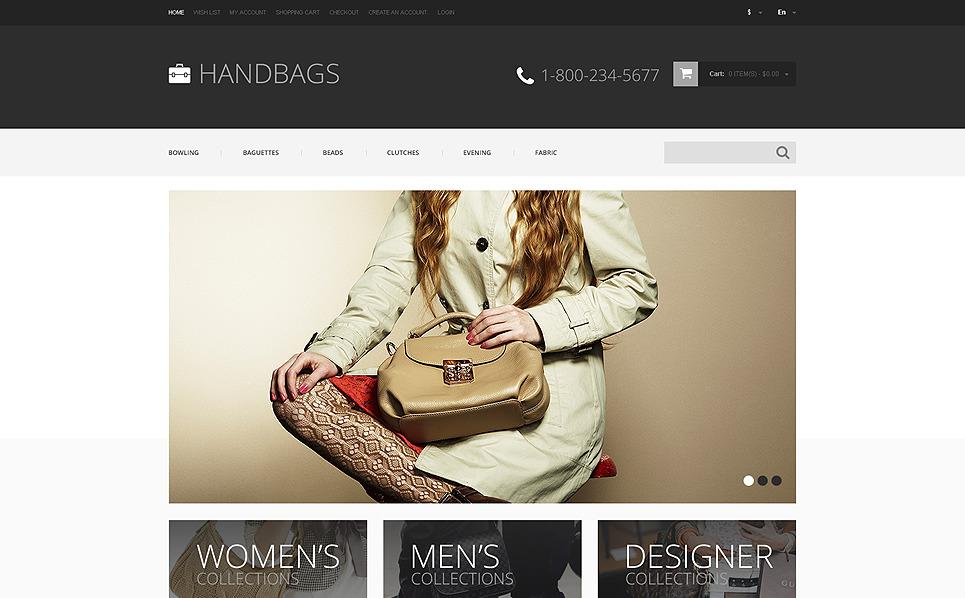 Thème OpenCart adaptatif  pour magasin de sacs à main New Screenshots BIG