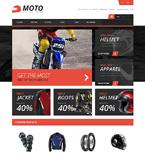 Sport OpenCart  Template 48273