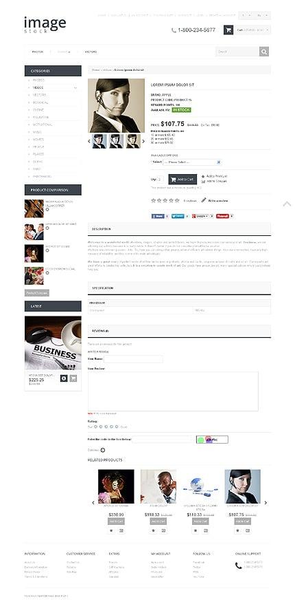 ADOBE Photoshop Template 48275 Home Page Screenshot