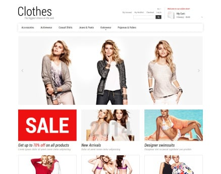 Smart Casual Magento Theme
